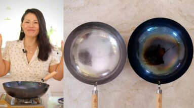 How to Season a Wok and Maintain at Home | What Wok I'm Using & Where You Can Buy It Too