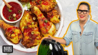 I just bought an AIR FRYER & made MALAYSIAN 'FRIED' CHICKEN 🍗  | Marion's Kitchen