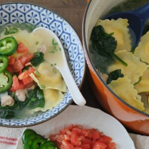 Chicken and Lobster Ravioli Soup - Episode 237