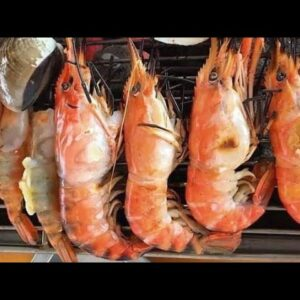 Fresh, delicious, not full, does not stop eating Asawin Korean BBQ Seafood Buffet | Thai street Food