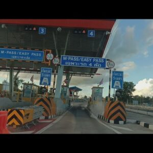 Car 🚗 Driving Experience🚦🛣 from Pattaya 🎢to Chonburi (Thailand)