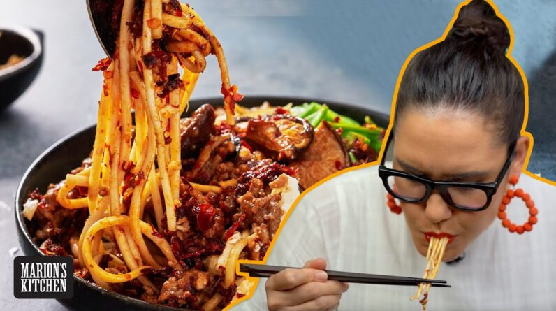 The Malaysian pork noodles you need to know about...CHILLI PAN MEE | Marion's Kitchen