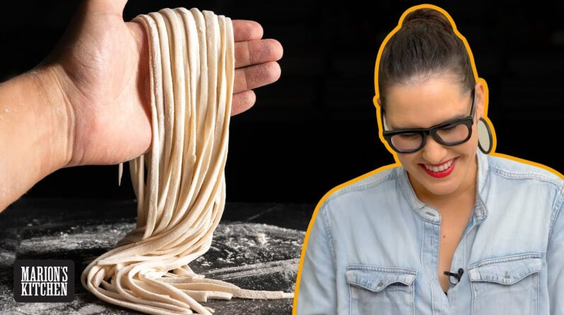 How to make homemade Chinese noodles from scratch | Marion's Kitchen | #AtHome #WithMe