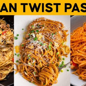 Three fusion pasta recipes that break all the rules! | Marion's Kitchen