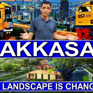 MAKKASAN, Bangkok:. An area more exciting than 50 shopping malls! The city's landscape is changing.