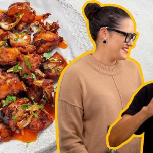 Mama Noi is BACK! Super easy Thai Garlic Fried Chicken #athome #withme | Marion's Kitchen