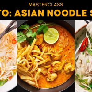 How to Make Street Food Style Asian Noodle Soups #AtHome #WithMe | Marion's Kitchen