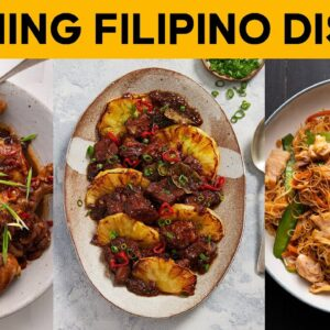 My FAVE Filipino dishes #AtHome #WithMe | Marion's Kitchen