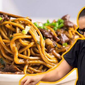 Super Tender Mongolian Beef... With Noodles!  | Marion's Kitchen