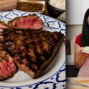 """The Only Steak Marinade You Need - Thai """"Crying Tiger""""  Recipe"""