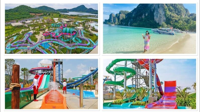 Thailand 🇹🇭 Ramayana Water  💦Park🎢- Indian 🇮🇳 couple in Thailand 🇹🇭