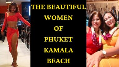 NEVER-BEFORE-SEEN FOOTAGE OF BEAUTIFUL LADIES IN PHUKET V609